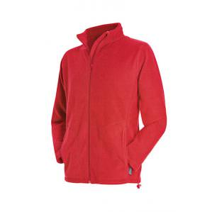 Флисовая куртка STEDMAN ST5030 цв.красный