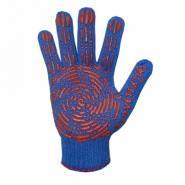 Перчатки с ПВХ точкой МОЛОТ