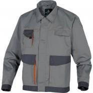 Куртка робоча Delta Plus DMVESGO, світло-сірий-помаранчевий