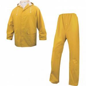 Костюм влагозащитный Delta Plus 304, цв.желтый