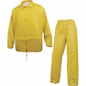 Костюм влагозащитный Delta Plus 400, цв.желтый