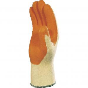 Перчатки c латексным покрытием Delta Plus VE730OR - 1