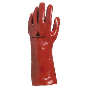 Перчатки с ПВХ Delta Plus PVC7335