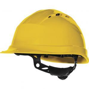 Защитная каска Delta Plus QUARTZ UP IV, цв.желтый