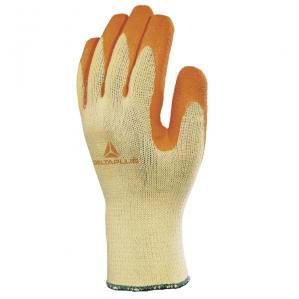 Перчатки c латексным покрытием Delta Plus VE730OR