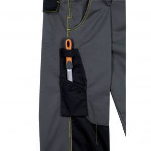 Комбинезон рабочий DELTA PLUS DMACHCOM D-MACH, цв.светло-серый-оранжевый - 1