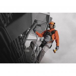 Комбинезон рабочий DELTA PLUS DMACHCOM D-MACH, цв.светло-серый-оранжевый - 2