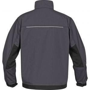 Куртка демисезонная Delta Plus MCVE2 MACH 2 CORPORATE RIP STOP серая - 3