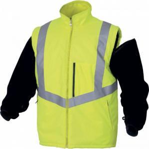 Куртка сигнальная Delta Plus OPTIMUM, цв.желтый - 1