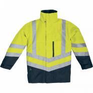 Куртка сигнальная Delta Plus OPTIMUM, цв.желтый
