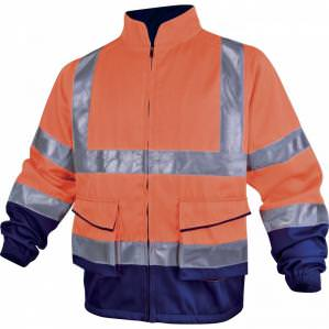 Куртка сигнальная Delta Plus PHVE2 сине-оранжевая