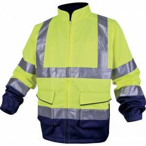 Куртка сигнальная Delta Plus PHVES желтая