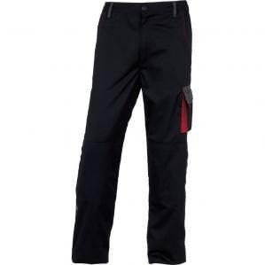 Брюки рабочие Delta Plus DMACHPAN D-MACH, цв.черный-красный