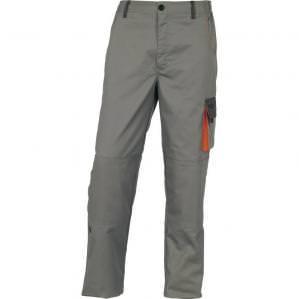 Брюки рабочие Delta Plus DMACHPAN D-MACH, цв.светло-серый-оранжевый