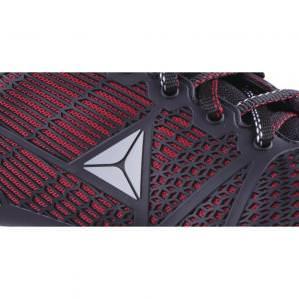 Кроссовки Delta Sport S1P SRC, цв.черный-красный - 4