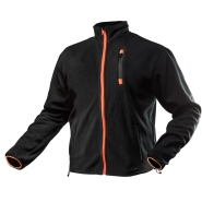 Куртка флисовая NEO TOOLS 81-500, цв.черный