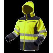 Куртка світлоповертаюча Softshell NEO TOOLS 81700, кол.жовтий