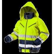 Куртка сигнальна утеплена NEO TOOLS 81710, кол. жовтий