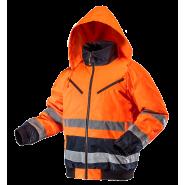 Куртка сигнальна утеплена NEO TOOLS 81711, кол. помаранчевий