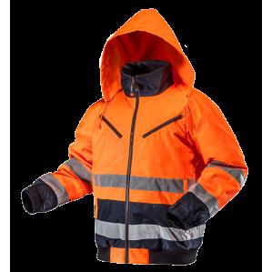 Ветровка сигнальная утепленная NEO TOOLS 81711, цв.оранжевый