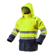 Куртка світлоповертаюча Oxford NEO TOOLS 81720, жовта