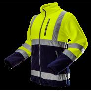 Куртка флисовая сигнальная NEO TOOLS 81740, цв. лимонный