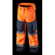 Сигнальные брюки утепленные Softshell NEO TOOLS 81751, цв.оранжевый