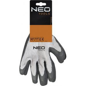 Перчатки с латексным покрытием NEO TOOLS 97600