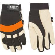 Перчатки кожаные/неопрен NEO TOOLS 97606