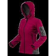 Куртка женская Neo Tools 80-550 Softshell бордовая