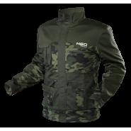 Куртка камуфлированная Neo Tools 81-211 Camo Series хаки