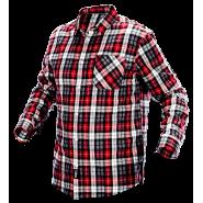 Рубашка фланелевая Neo Tools 81-540 красно-белая