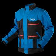 Куртка рабочая хб Neo Tools HD+ 81-215 cине-серая