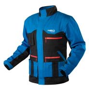 Куртка рабочая хб Neo Tools HD+ 81-215 cине-серые