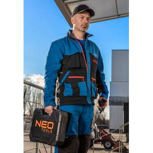 Куртка рабочая хб Neo Tools HD+ 81-215 cине-серая - 1