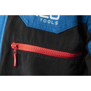 Куртка рабочая хб Neo Tools HD+ 81-215 cине-серая - 2