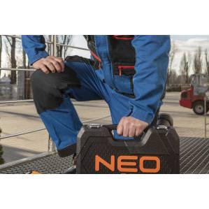 Брюки рабочие хб Neo Tools HD+ 81-225 cине-серые - 2
