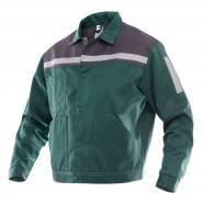 Куртка защитная SVAN Профи зелено-серая