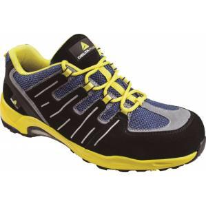 Кроссовки рабочие Delta Plus XR302 S1P SRC, цв.синий-желтый