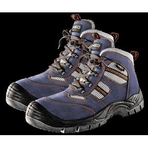 Ботинки замшевые S1P NEO TOOLS 82040