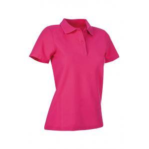 Рубашка-поло женская STEDMAN ST3100 цв.розовый