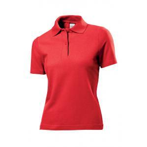 Рубашка-поло женская STEDMAN ST3100 цв.красный