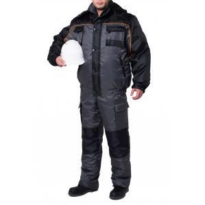 Куртка утепленная SVAN СПЕЦ серо-черная