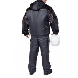 Куртка утепленная SVAN СПЕЦ серо-черная - 1
