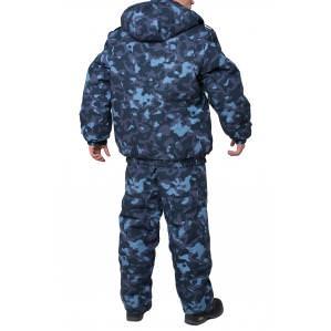 Куртка утепленная ОХРАНА, цв.камуфляж - 1