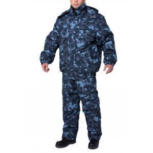 Куртка утепленная ОХРАНА, цв.камуфляж