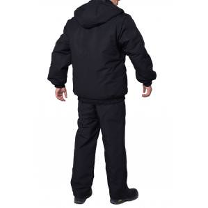 Куртка утепленная ОХРАНА, цв.черный - 1