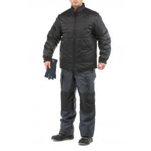 Куртка-трансформер ПИЛОТ, цв.черный