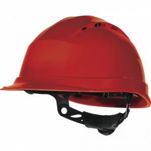 Защитная каска Delta Plus QUARTZ UP III, цв.красный