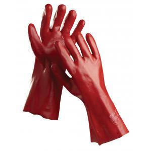 Перчатки хб с покрытием REDSTART 35 см